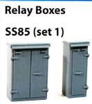 SS85 Wills OO Scale Relay Boxes Set 1